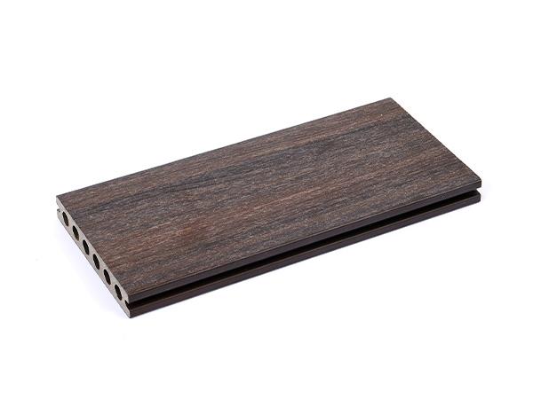 二代共擠圓孔塑木地板LN-SDK13823IPE